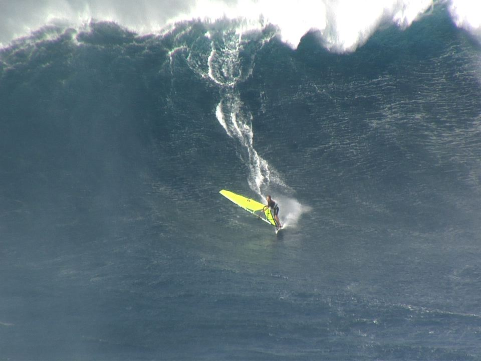 big jaws windsurfing